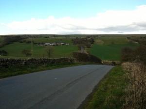 Rolling hills of Derbyshire! Lots of effort!
