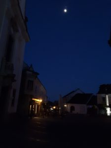 Szentendre by moonlight.