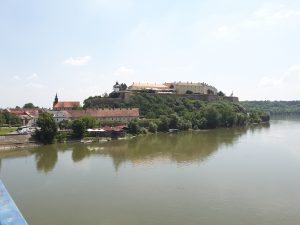 The Petrovaradin Fortress at Novi Sad.