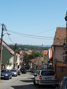The view towards Beograd from Zemun