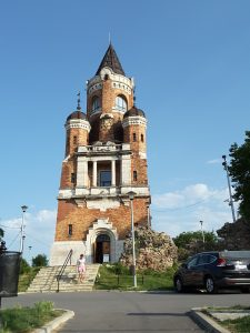 The Gardos Tower in Zemun built in 1896 to mark the millennium of the Hungarian Empire.