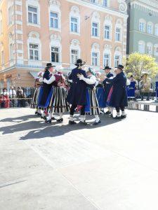 Bavarian folk Dancers