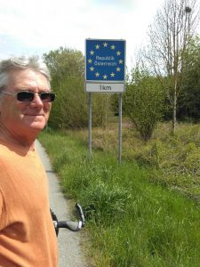 Entering another part of the EU, where borders don't seem to matter very much