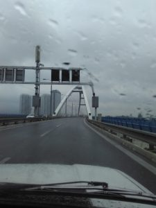 "The ""Apollo Bridge"", Bratislava"