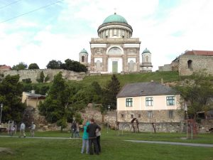 The Basilica at Esztergom, the centre of the Roman Catholic Church in Hungary.