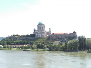 The Basilica at Esztergom from across the Duna.