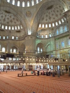 Blue Mosque or Sultan Ahmet mosque