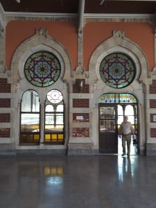 Istanbul's Sirkeci station... used to be the terminus for the Orient Express