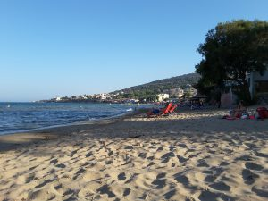 Karfas beach, approx 8 Km from Chios
