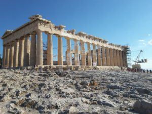 The Parthenon.