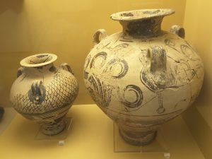 Ceramic containers that are around 3,500 years' old